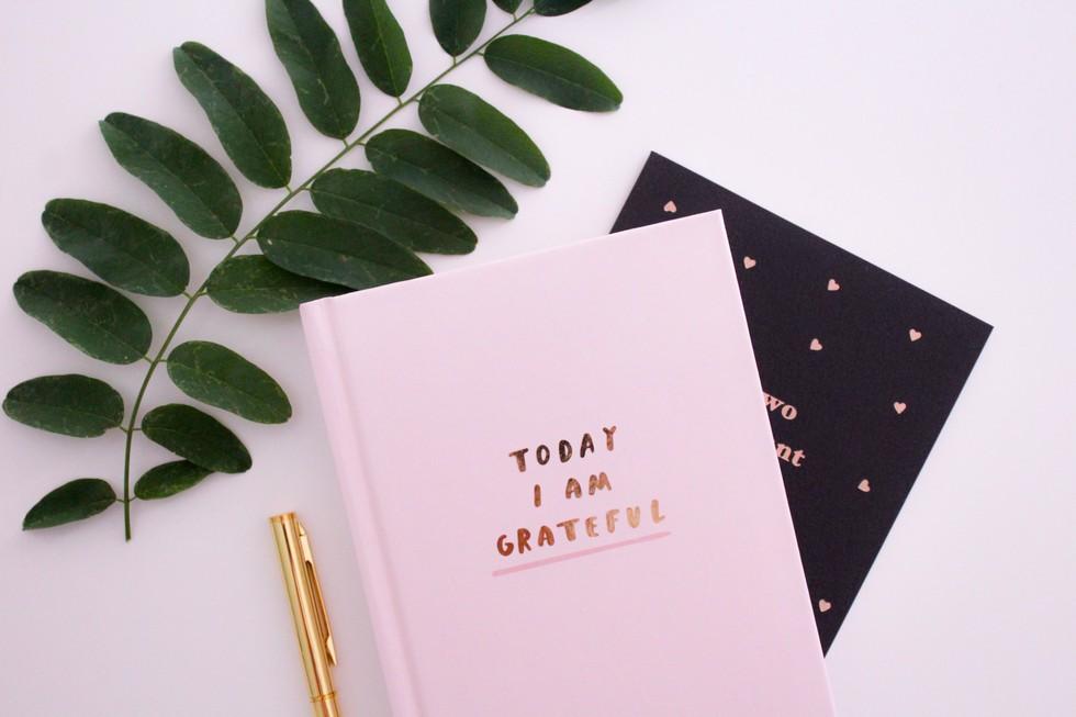 5. Make a gratitude list.