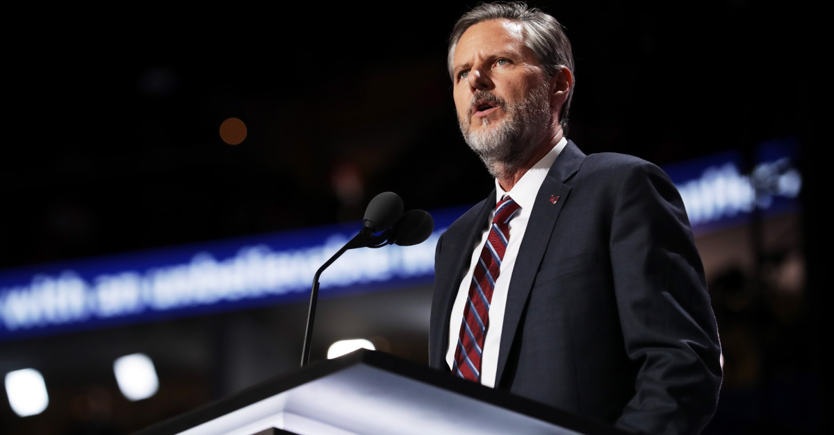 Jerry Falwell, Jr. Under Fire for Allowing Students Back to Dorms
