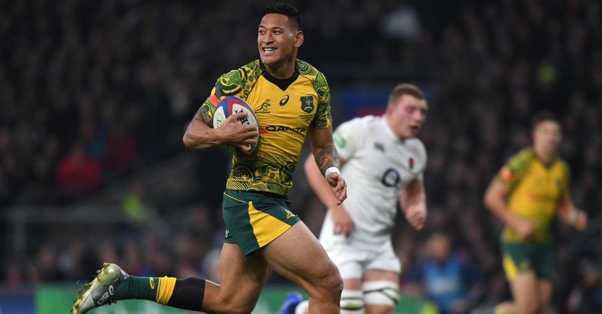 Israel Folau Reaches Settlement after Being Fired for Biblical Instagram Post