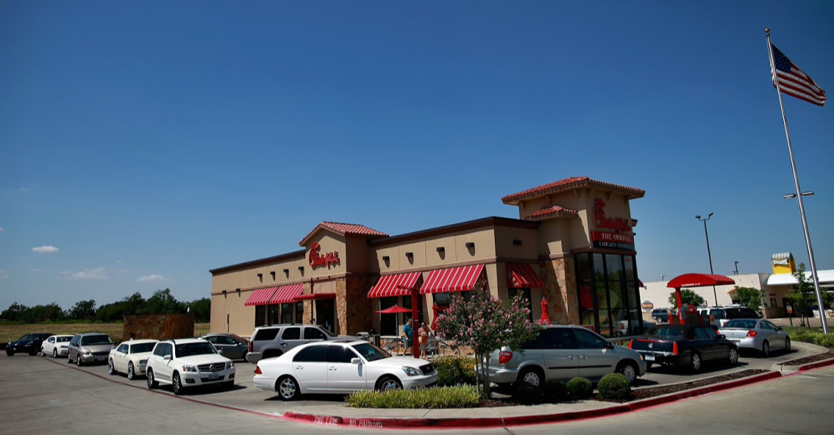 Chick-fil-A Closes Dining Rooms to Fight Coronavirus, Leaves Drive-Thrus Open