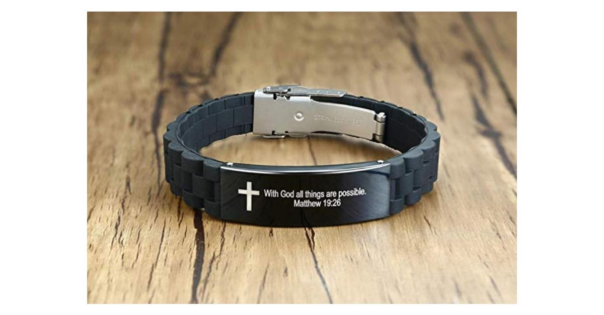 5. Christian Bracelet for Men