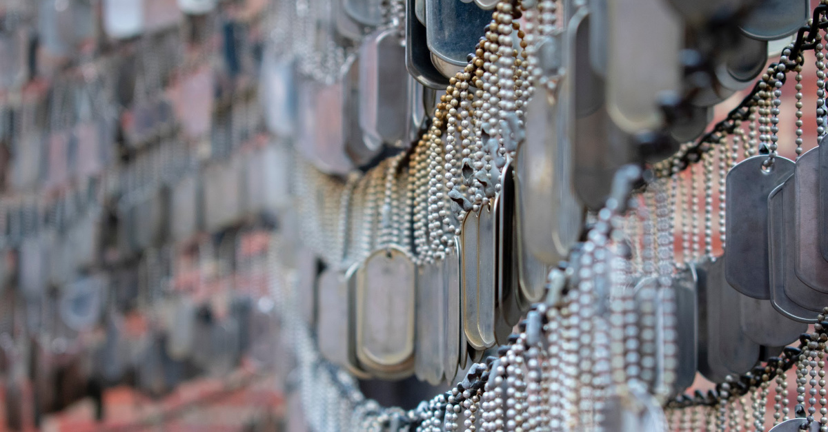 U.S. Army Orders Group to Stop Stamping Bible Verses on Dog Tags