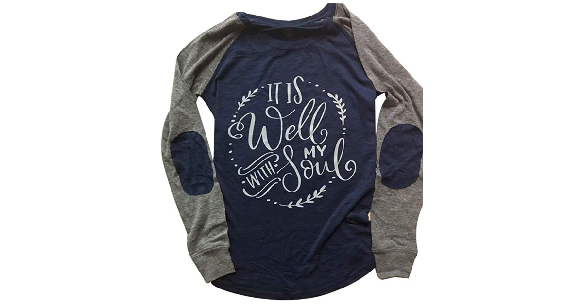 7. It Is Well With My Soul - Women's Shirt