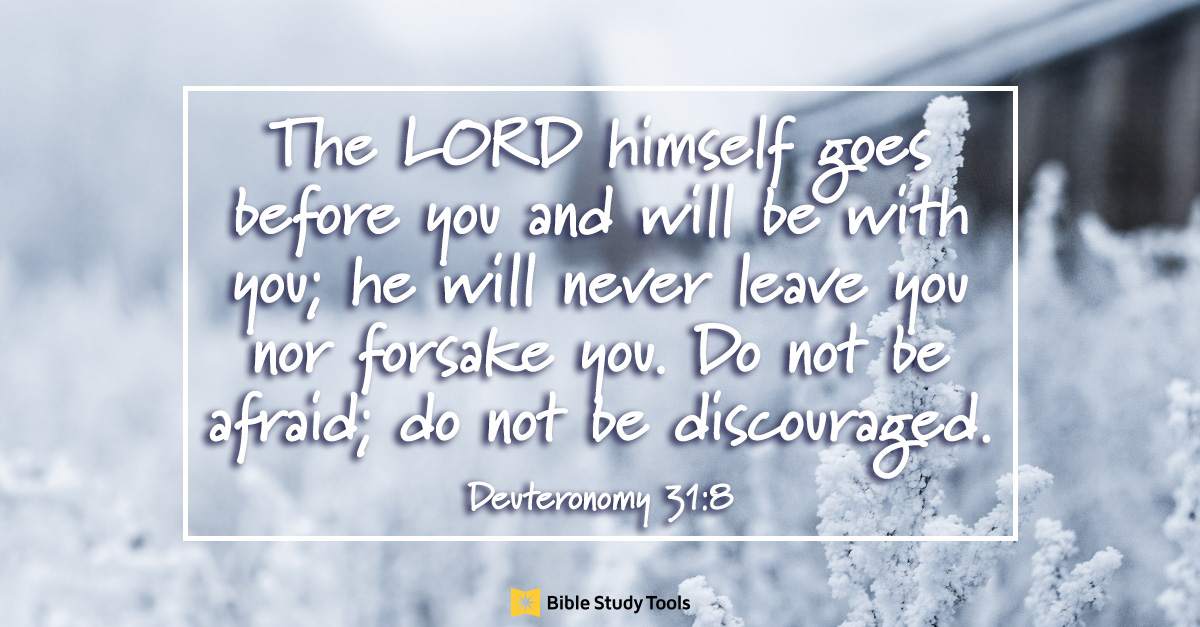 the lord goes before you