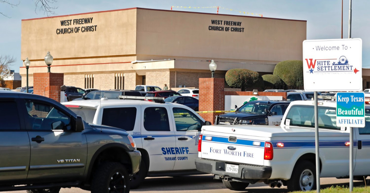 Texas Church Shooting Leaves 2 Churchgoers Dead
