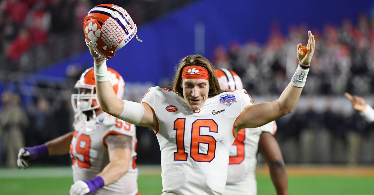 Clemson QB Trevor Lawrence Quotes Ephesians 3:20 after Win – It's 'Him within Us'