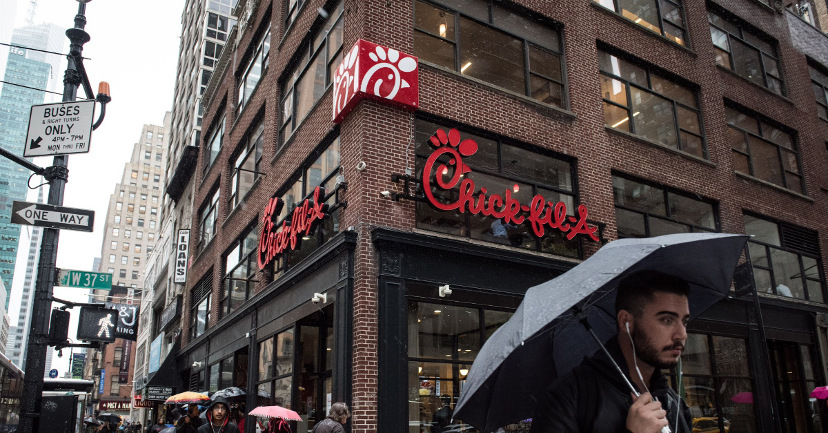 3. Chick-fil-A Goes from Breaking Records to Losing Support