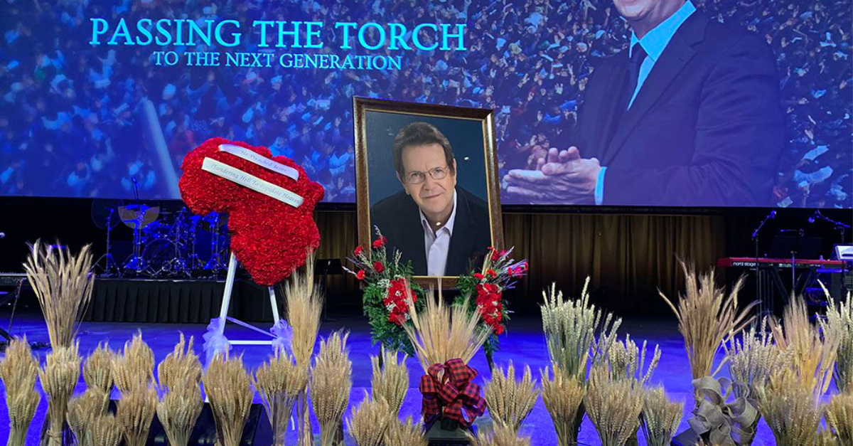 Memorial for Reinhard Bonnke, Known as 'The Billy Graham of Africa,' Draws Thousands