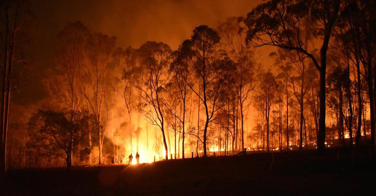 A Prayer for Australian Bushfires to Cease