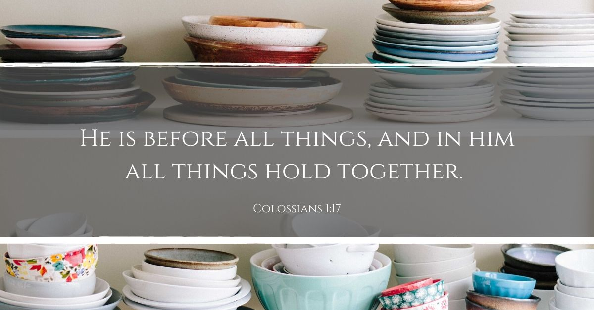 Your Daily Verse - Colossians 1:17