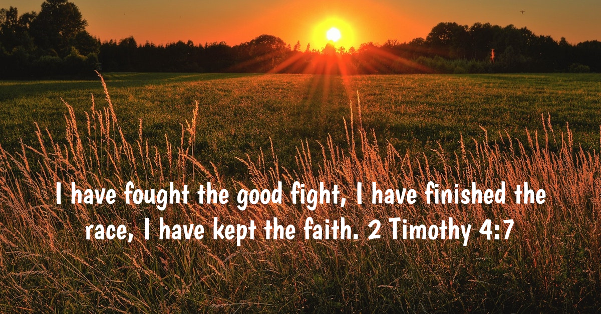 Faith in the Bible - Keep the Faith