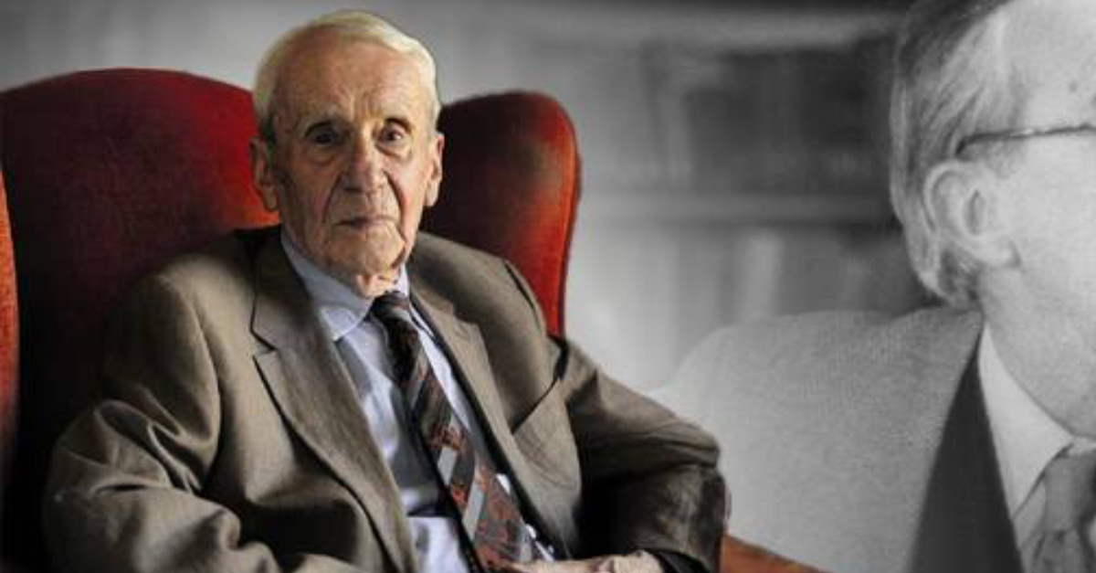 Christopher Tolkien, Son of J.R.R. Tolkien, Dies at 95-Years-Old