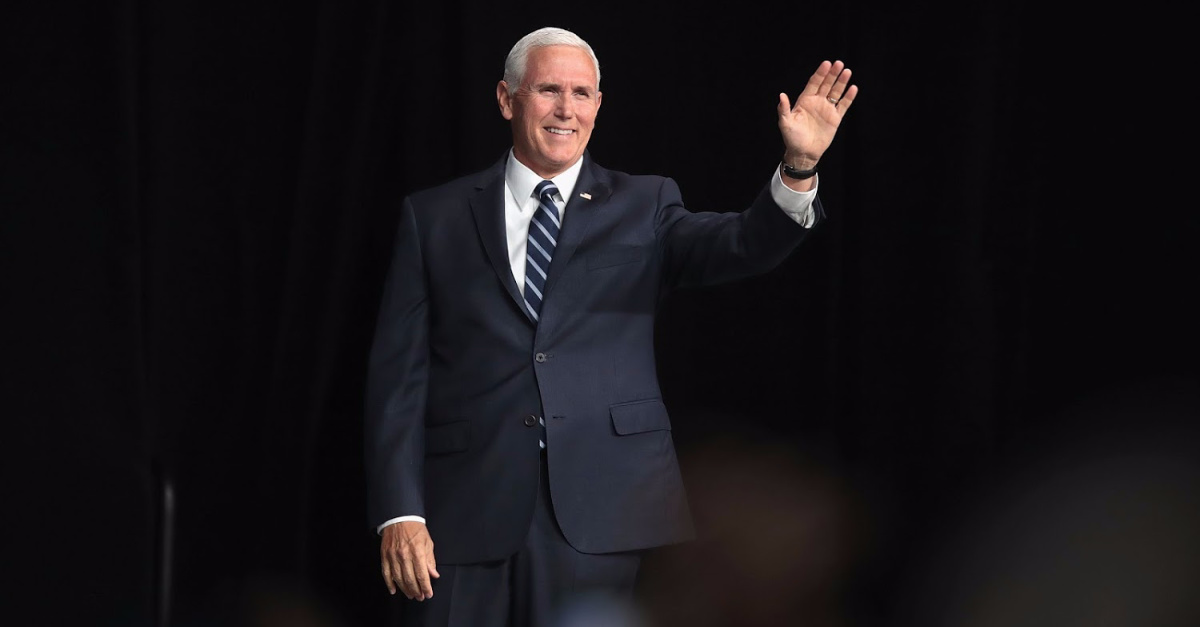 Mike Pence Tells Church: 'Hold Fast' to Jesus, Prayer During 'These Challenging Times'