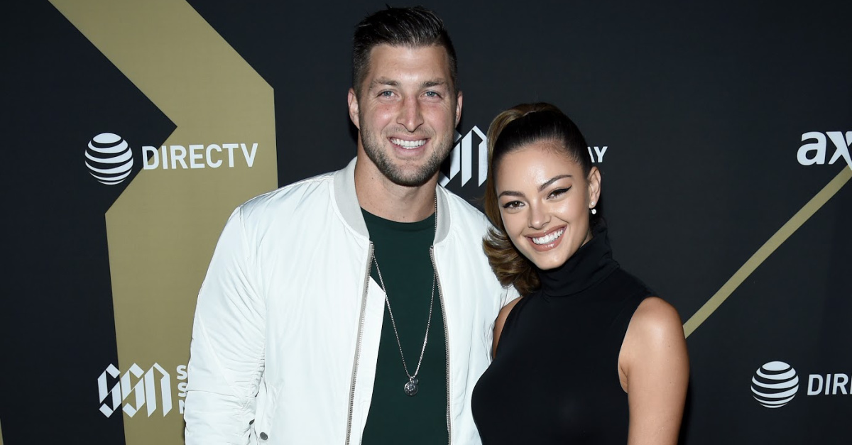 Tim Tebow and Demi-Leigh Nel Peters Are Officially Married