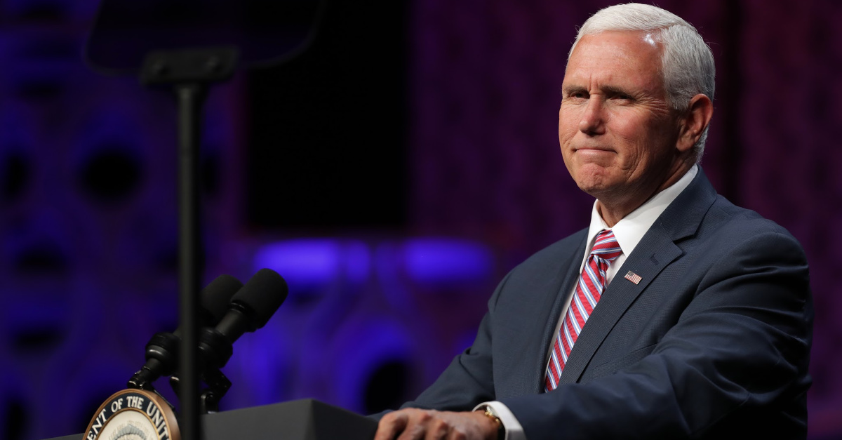 Vice President Mike Pence Under Fire for Attending 'Homophobic' Bible-Based Sermon
