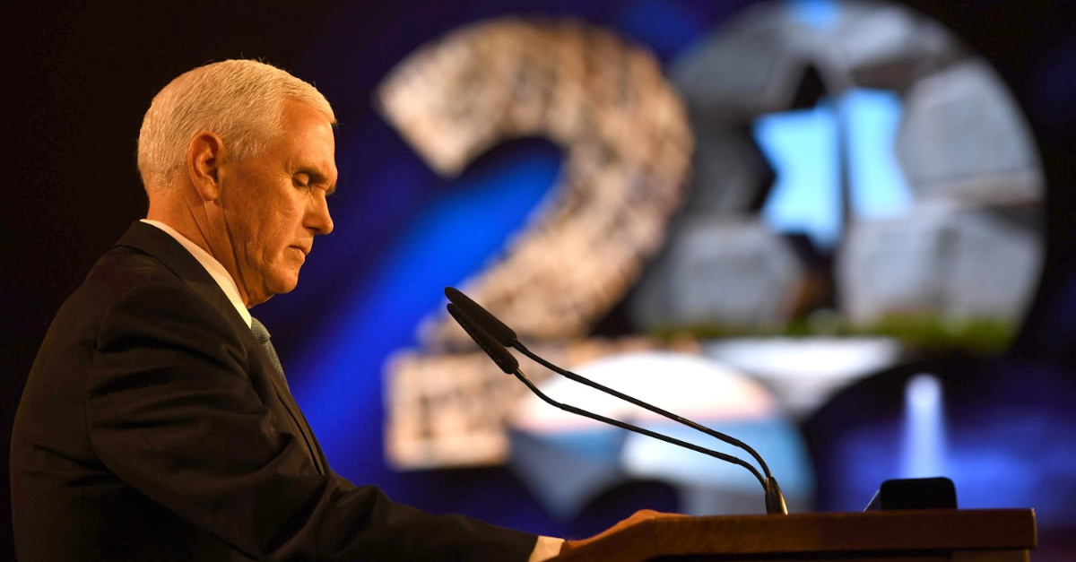 Attending the World Holocaust Forum in Israel Was Deeply Spiritual for Vice President Mike Pence