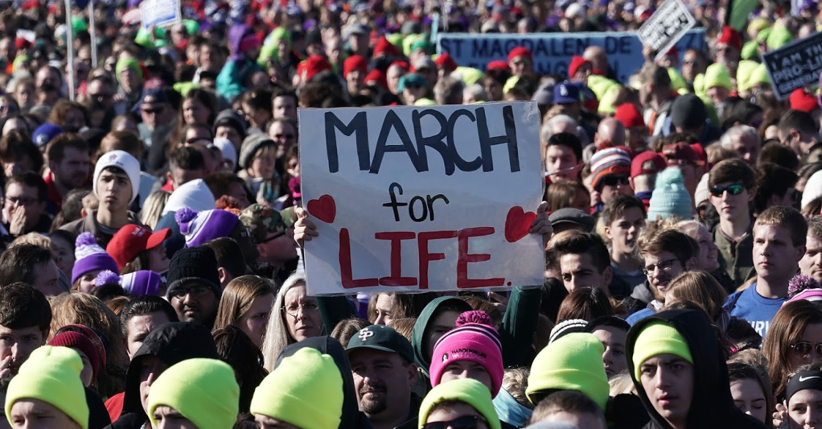 Covington Catholic School Student Nick Sandmann Returns to March for Life One Year after Confrontation