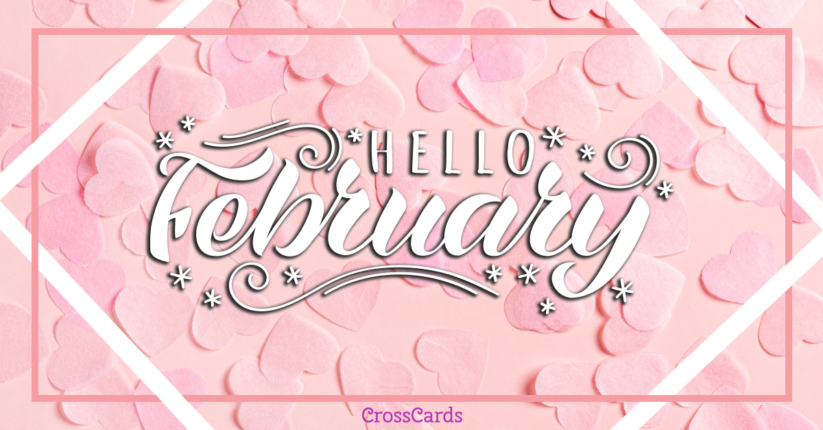 Hello February! ecard, online card