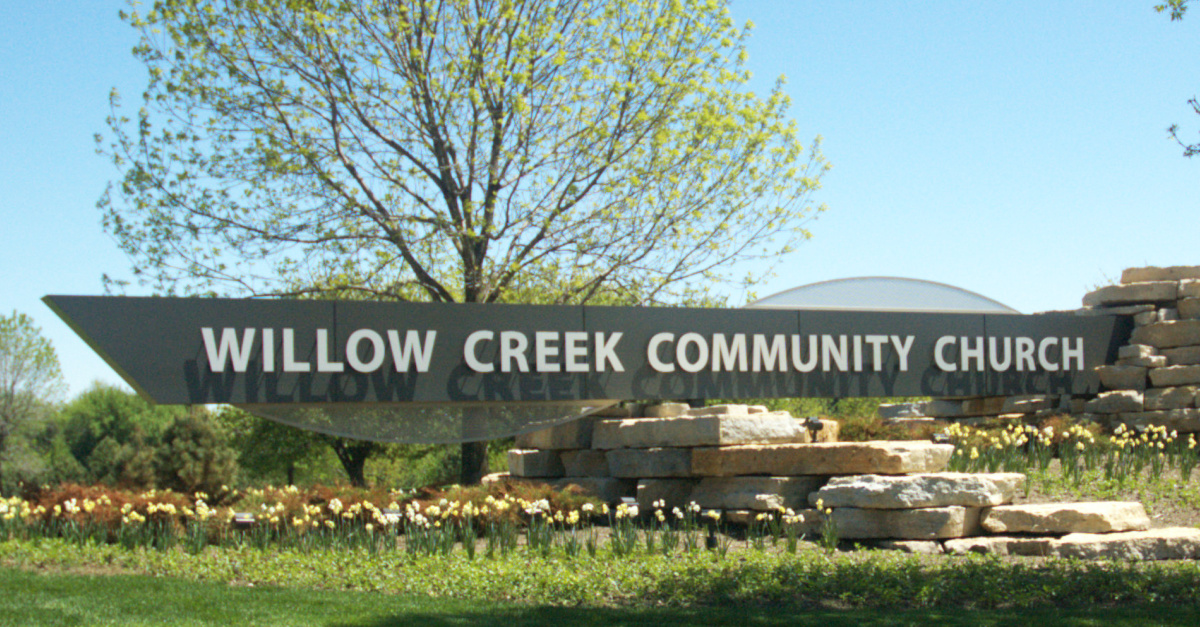 Willow Creek Confirms Abuse Allegations Made by Hybels' Mentor