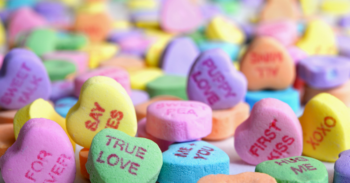 14 Candy Heart Love Notes to You from God