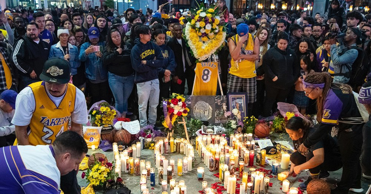 After Kobe Bryant's Death, Lakers' Chaplain Seeks Scripture to Help Cope