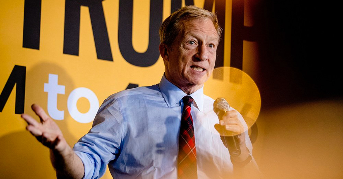 Presidential Hopeful Tom Steyer on Faith, Climate Change and Who Goes to Heaven