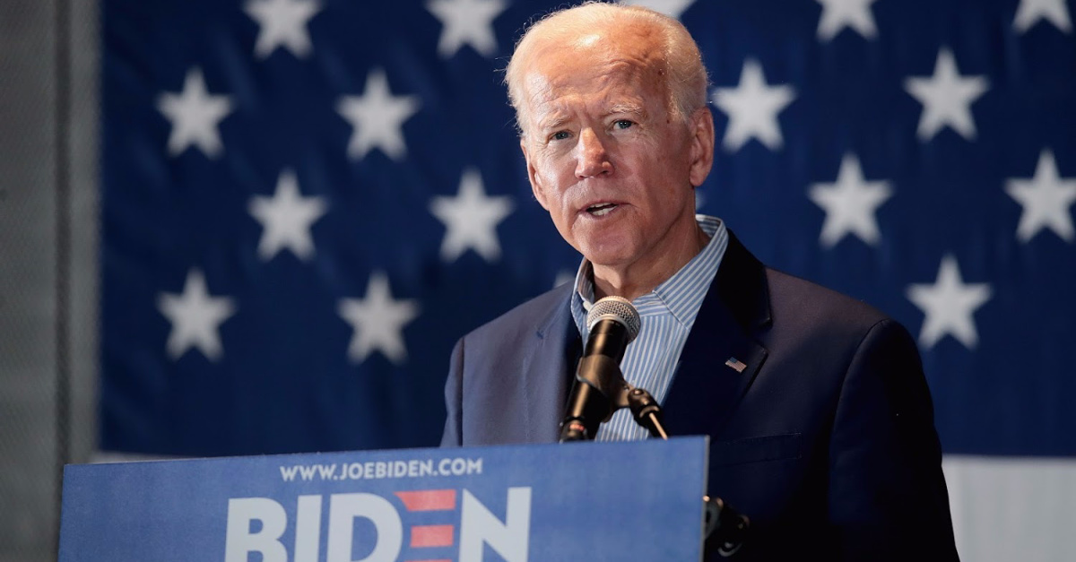 Biden Tells LGBT Group He Will Appoint 'Pro-Equality Judges' and 'Reverse Trump's Actions'
