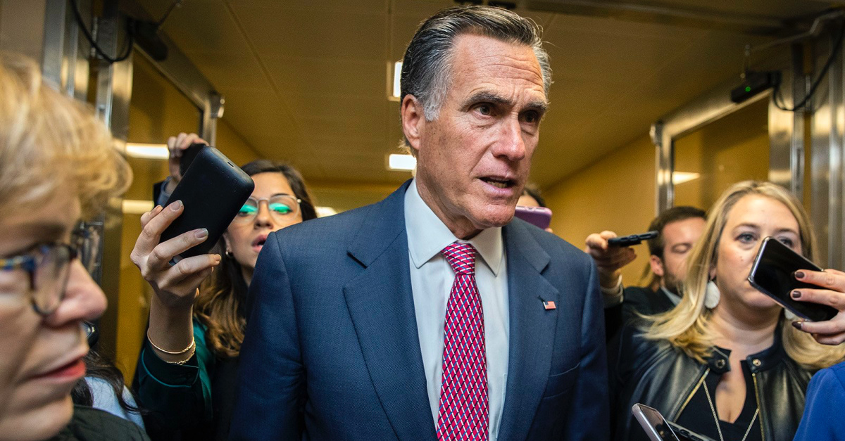 Romney Cites Faith as Inspiring His Vote to Convict Trump