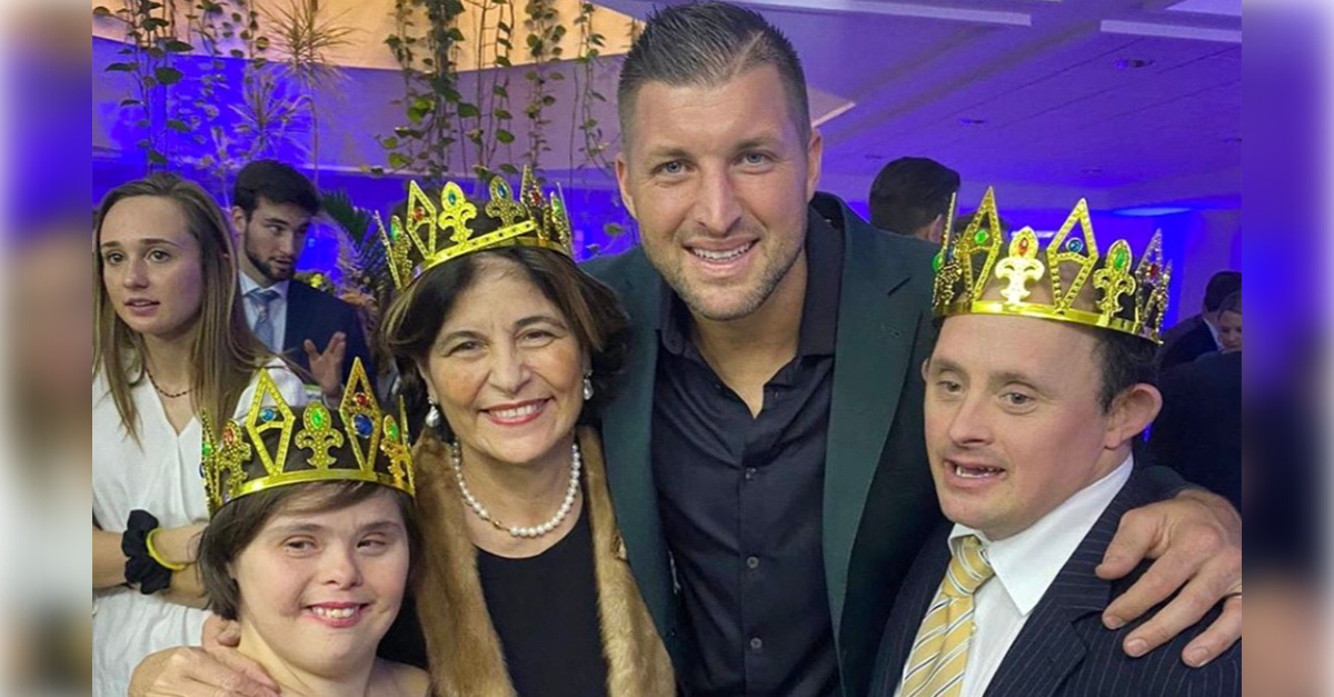 Tim Tebow and the Vatican Join Forces to Give Disabled an Epic Prom Night