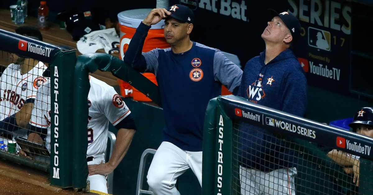 The Latest on the Astros Scandal: The Only Remedy for Cheating in Life