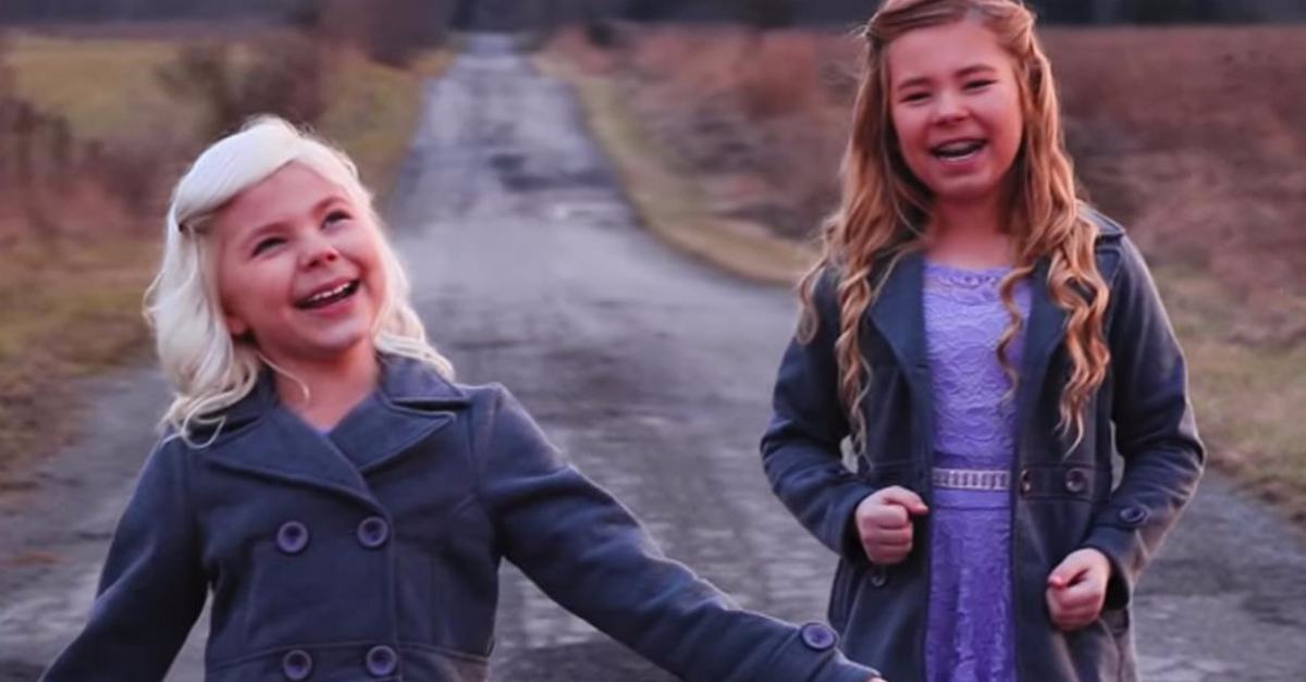 The 2 Detty Sisters Perform 'Thank God I Am Free' Hymn