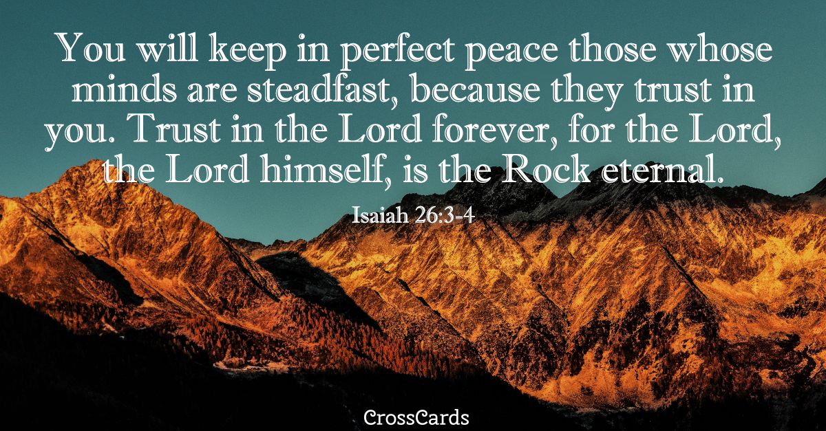 Image result for isaiah 26 3-4