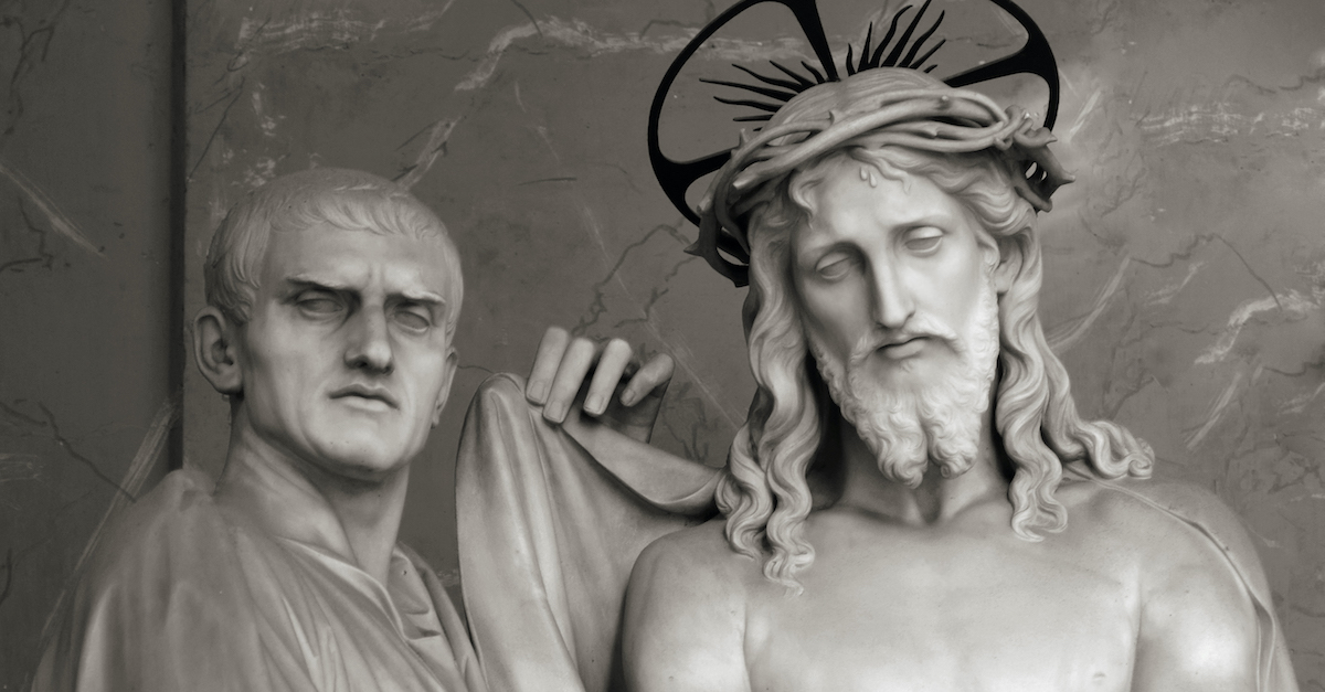 How Does Pontius Pilate Fit into the Resurrection Story?