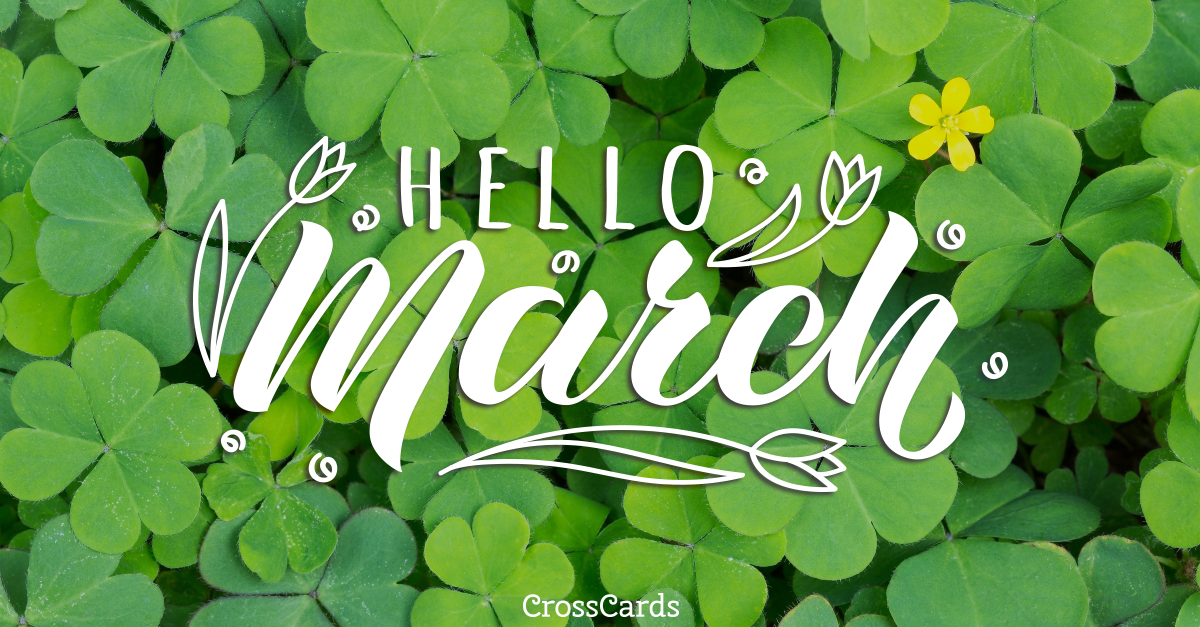 Welcome March! ecard, online card