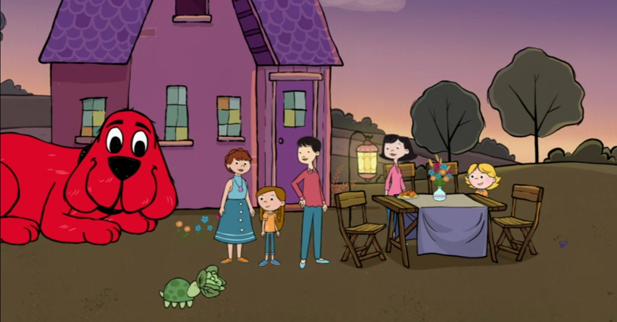 PBS Kids' Clifford the Big Red Dog Introduces LGBT Characters