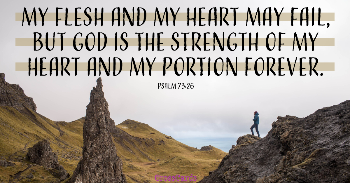 Your Daily Verse - Psalm 73:26