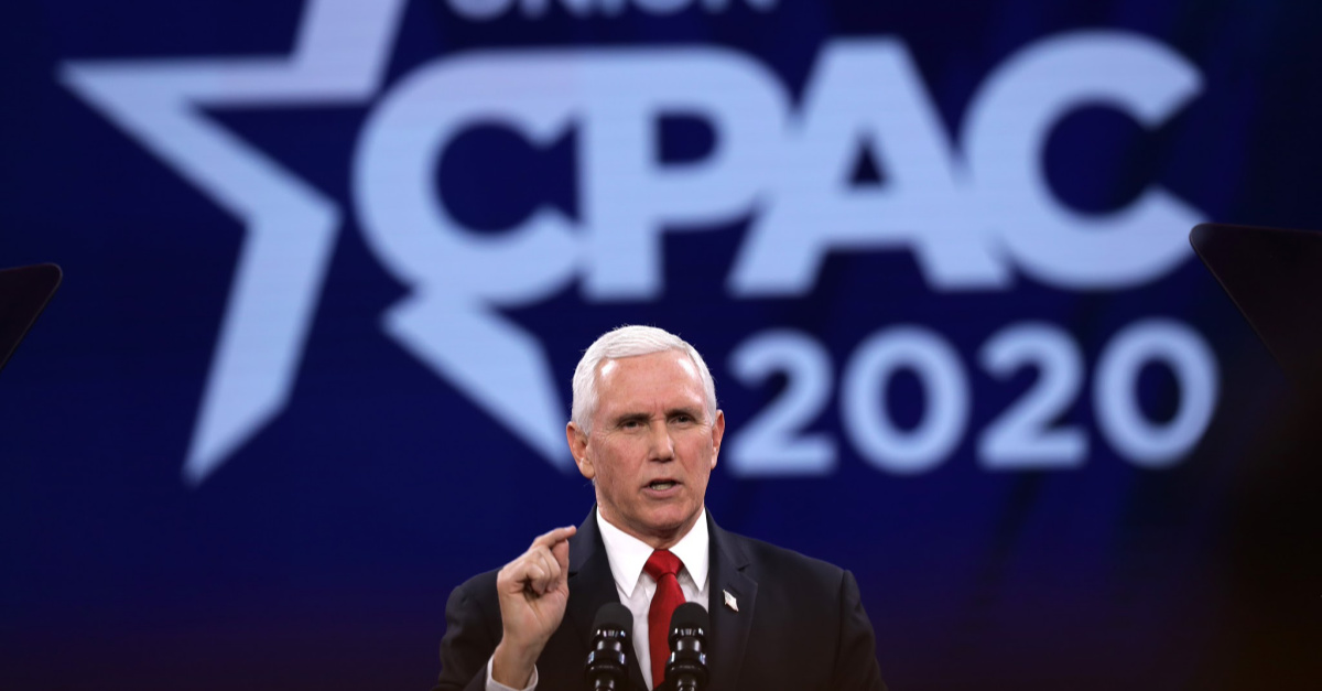 Mike Pence Says Pro-Life Democrats 'Have a Home' in the Republican Party