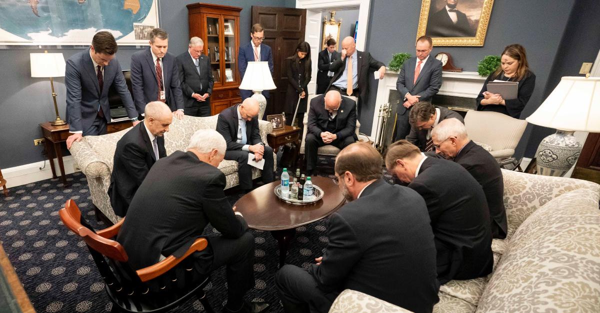 How Dare the Vice President Pray?