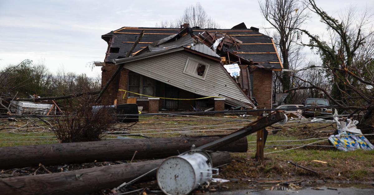 Violent Nashville Tornadoes Leave at Least 22 Dead, 40 Buildings Collapsed