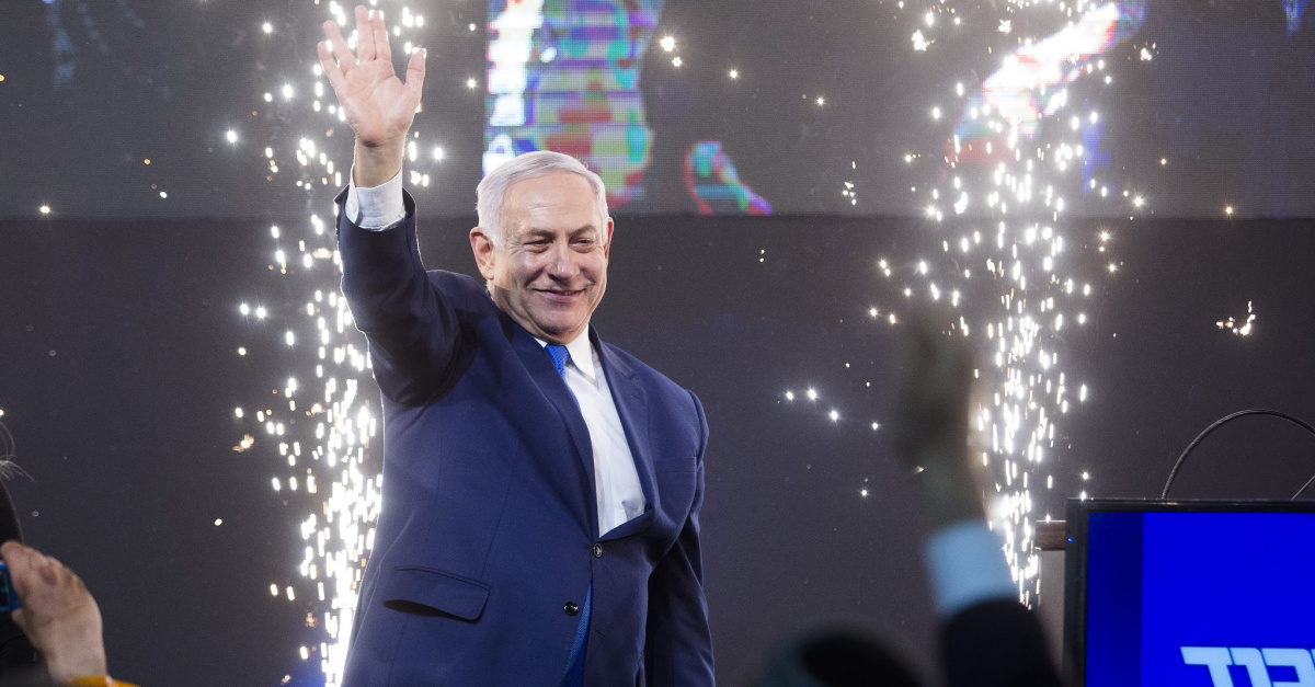 Preliminary Results Show Netanyahu Wins Prime Ministerial Election