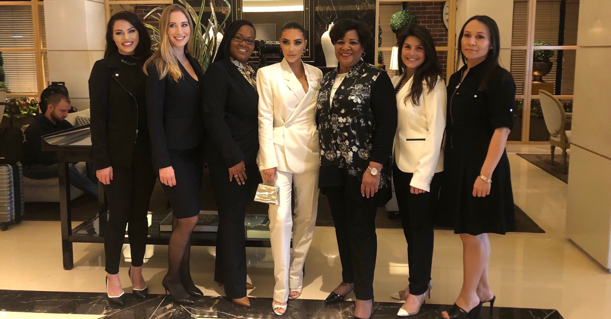 Kim Kardashian-West Meets with President Trump to Discuss Criminal Justice Reform