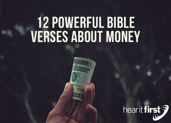 12 Powerful Bible Verses About Money