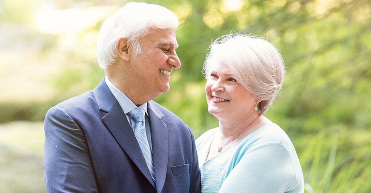 Ravi Zacharias Receives Grim Cancer Diagnosis, Returns Home to Be with Family