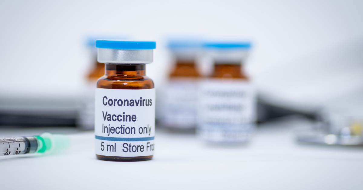 3. A Vaccine Has Been Shipped for Human Testing