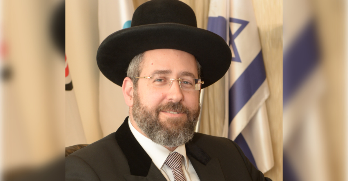 Israel's Chief Rabbi Asks Citizens to Fast to End the Coronavirus Pandemic