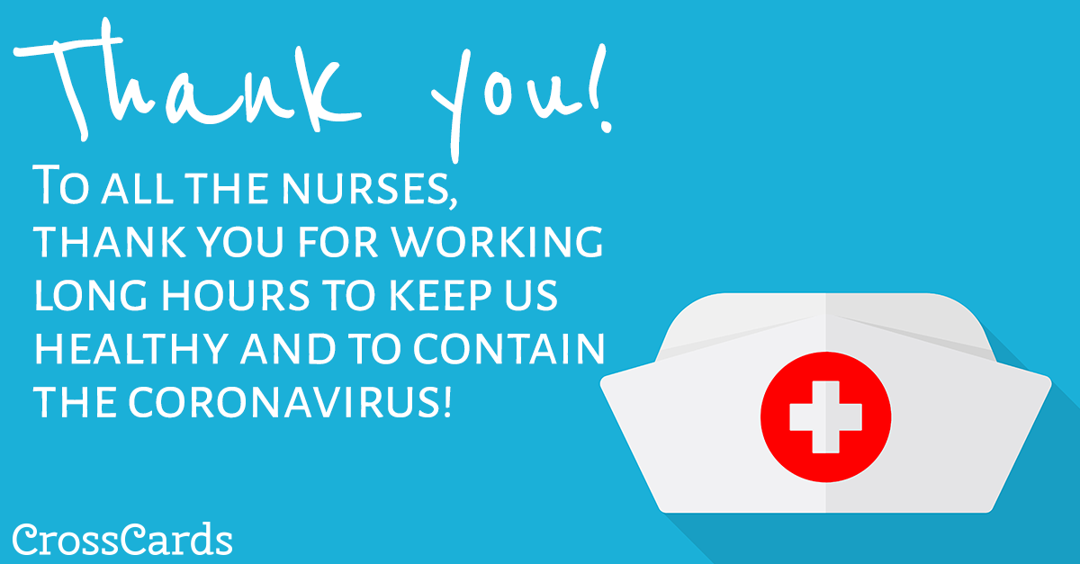 Thank You Nurses! ecard, online card