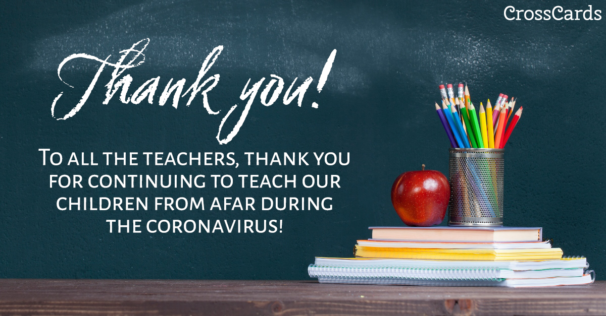 Thank You Teachers! ecard, online card