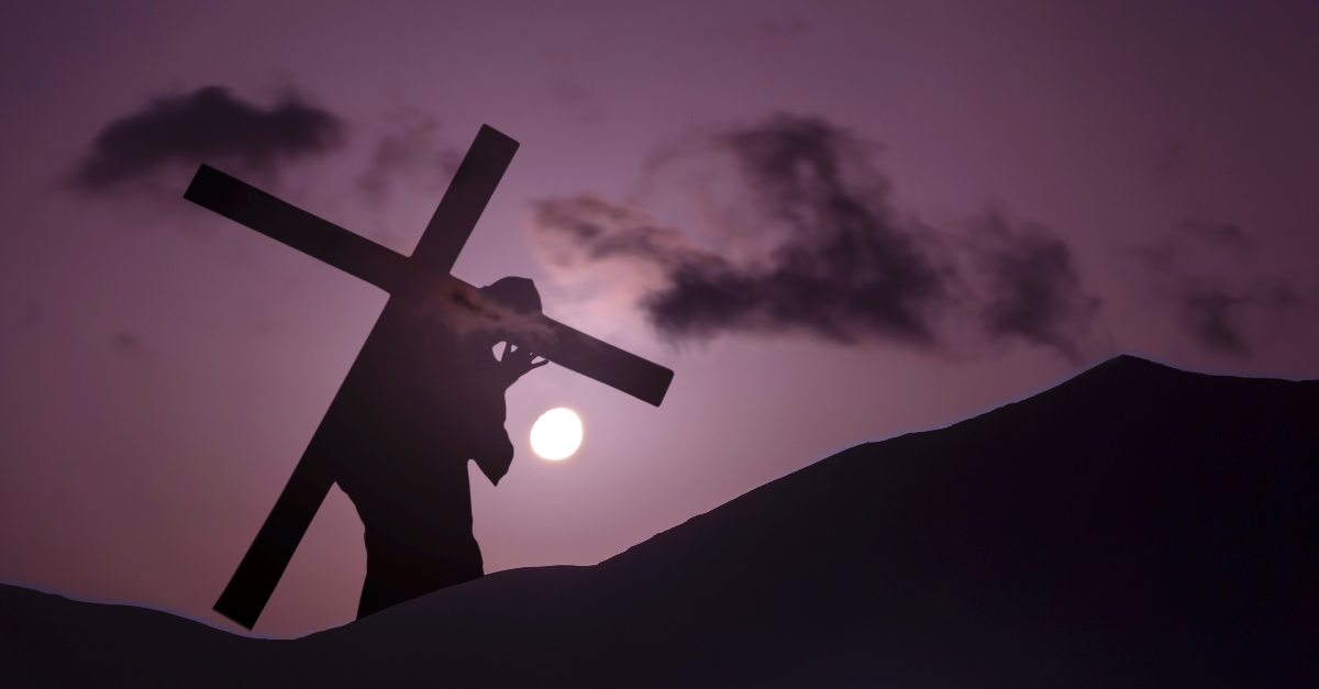 """Take Up Your Cross"""" Verse Meaning of Jesus' Words"""