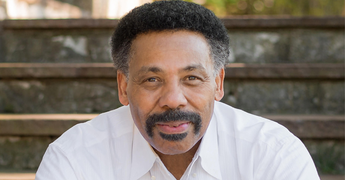 Tony Evans: America's Racial Crisis is a Result of the Failure of the Church to Deal With Racism
