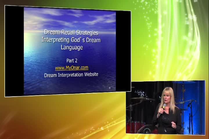 Dream Recal Strategies:Interpreting God's Dream Language